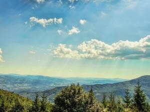 Czech - Poland mountains