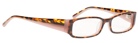 Cover Girl 425 Glasses in Tortoise and Pink