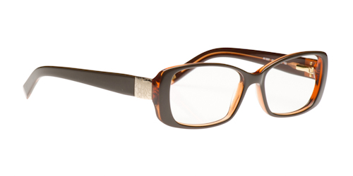 anne klein glasses brown