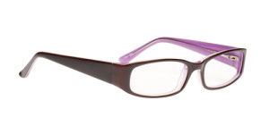 Commotion Brazen Glasses in Brown an d Purple