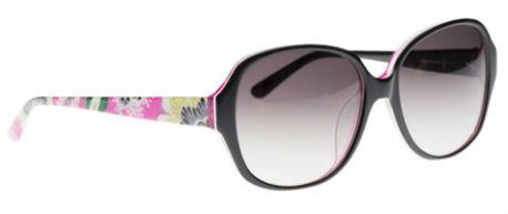 Vera Bradley Lillian Sunglasses in Priscilla Pink