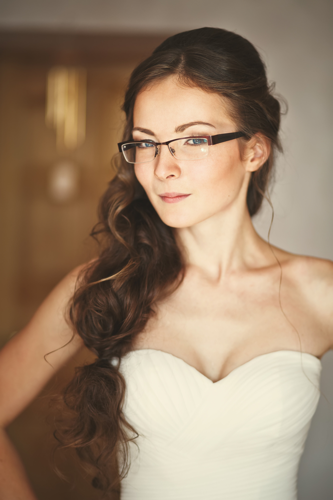Wearing Glasses on Your Wedding Day: Fashion Do or Fashion Don\'t ...