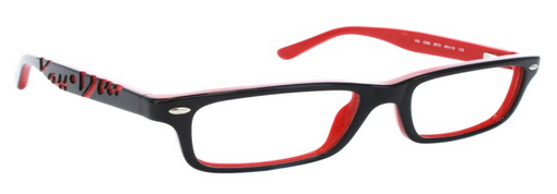 Ray Ban 1535 Top Black on Red