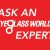 Ask Eyeglass World logo