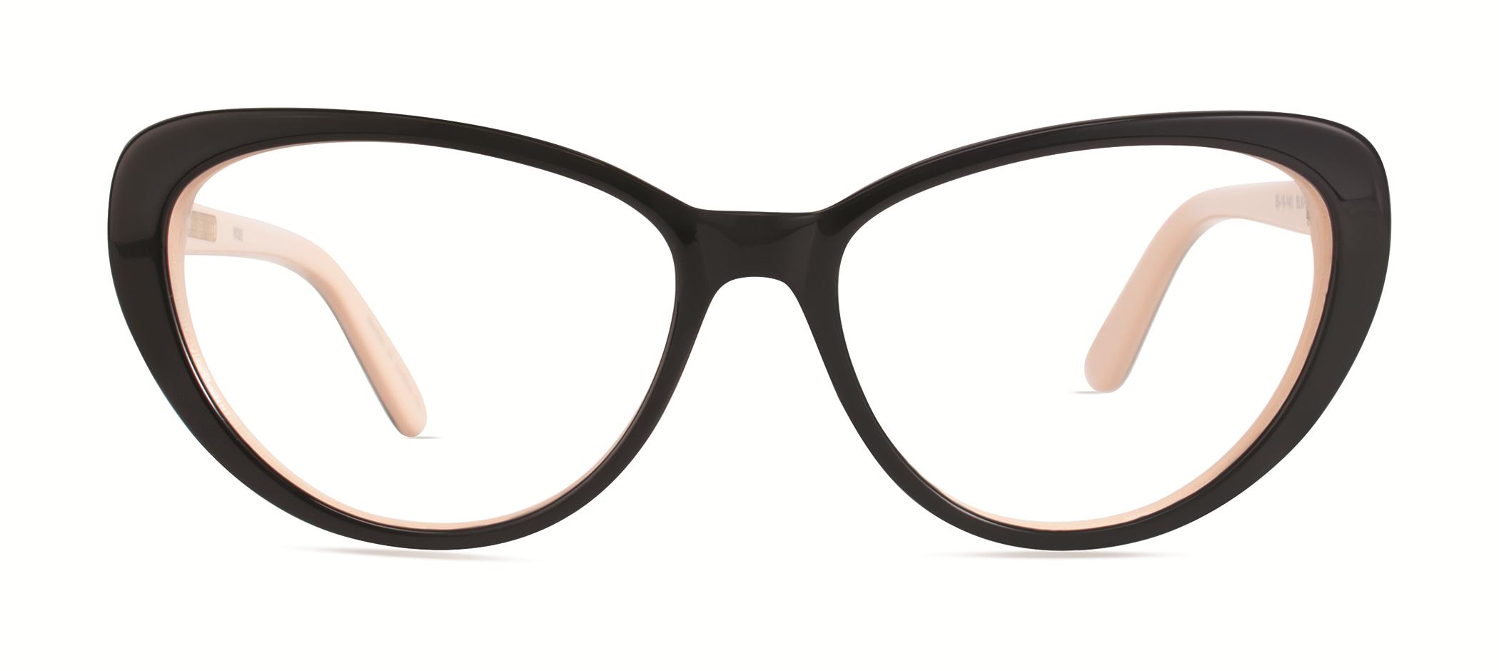 Black Frame Glasses Trend : Trend Alert: Chunky Black Eyeglass Frames