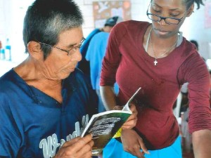 Reading glasses in Nicaragua 1