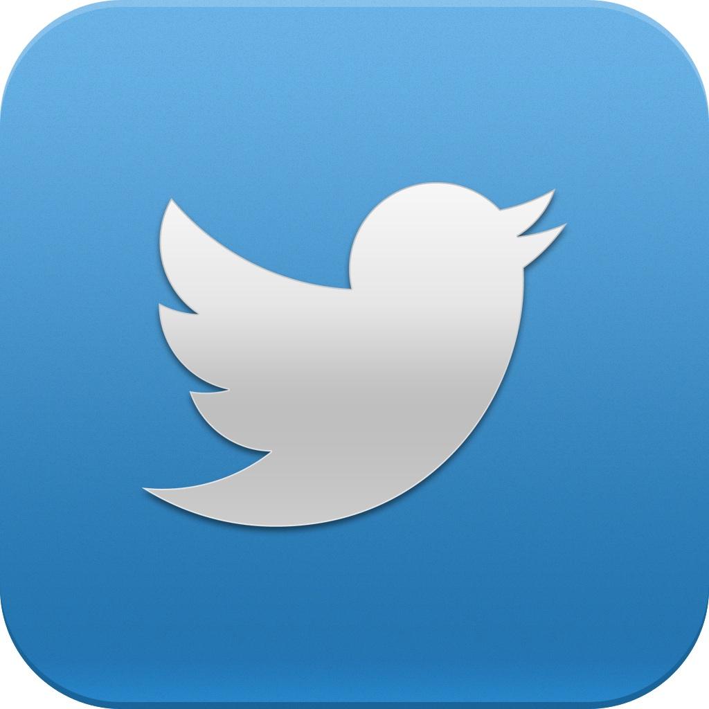 Twitter social media logo