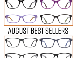 Eyeglass World August Best Sellers
