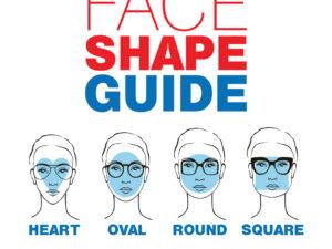 Face Shape Guide for Eyeglasses