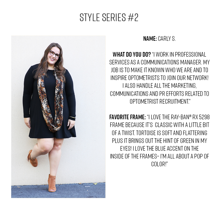 Style Series at Eyeglass World with Carly