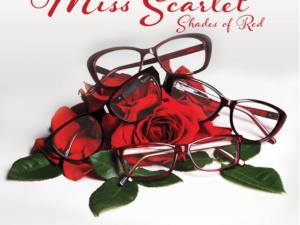 Miss Scarlet red frames
