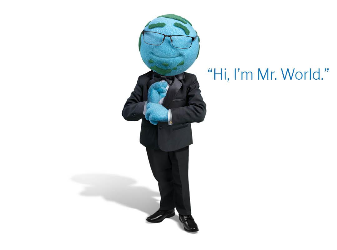 Introducing Mr. World