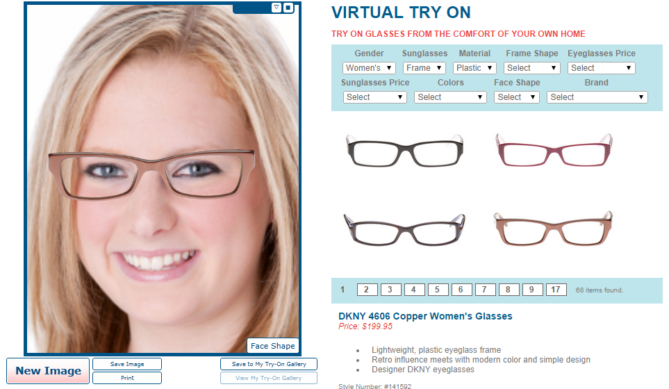 Eyeglass World Virtual Try-On Feature Makes Choosing the Perfect ...