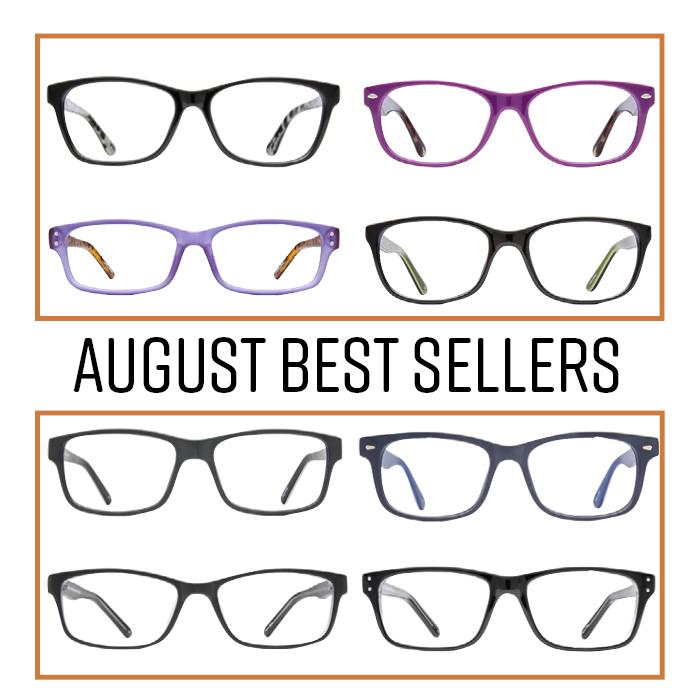 f9564289c5d5 Eyeglass World August Best Sellers